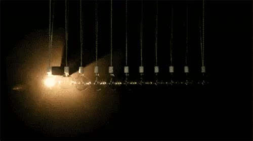 Light Pendulum