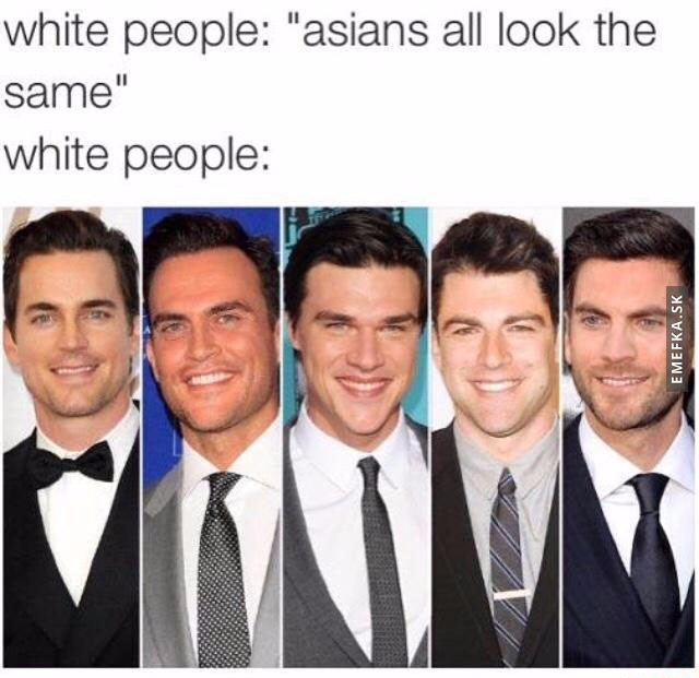 white people look the same