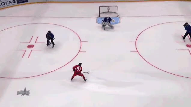 Nikita Gusev v KHL All Star Game