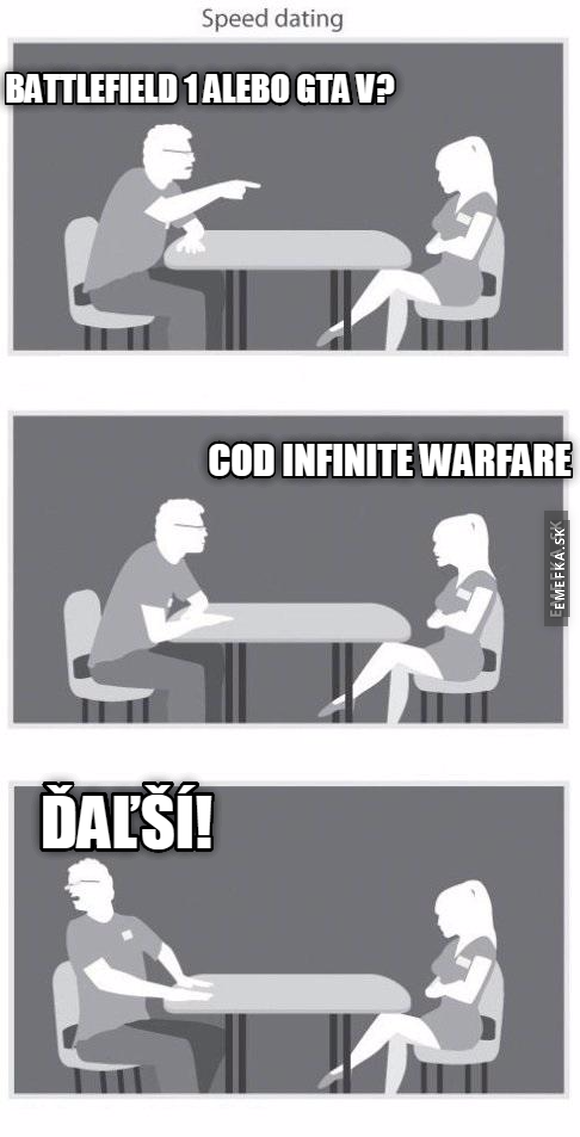 speed dating cod