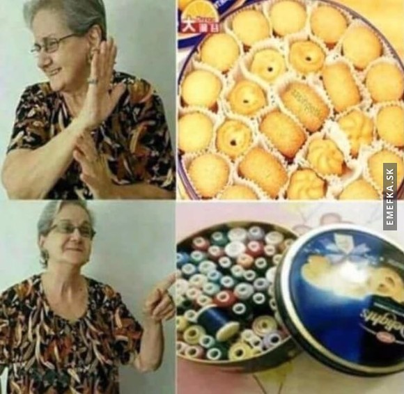 #OnlyGrandmotherThings