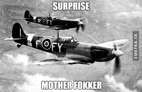 Spitfire incoming